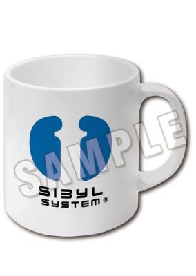 「PSYCHO-PASS サイコパス 2」カラーマグカップ:シビュラマーク&公安刑事課マーク(ホワイト)