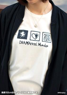 DRAMAtical Murder オリジナルモノトーンTシャツ【Mサイズ】