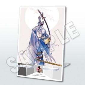 刀剣乱舞-ONLINE- 二周年記念祝画アクリルミラースタンド(三日月宗近)