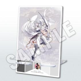 刀剣乱舞-ONLINE- 二周年記念祝画アクリルミラースタンド(鶴丸国永)