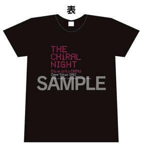 THE CHiRAL NIGHT -Dive into DMMd- ライブTシャツ【メンズ XS】