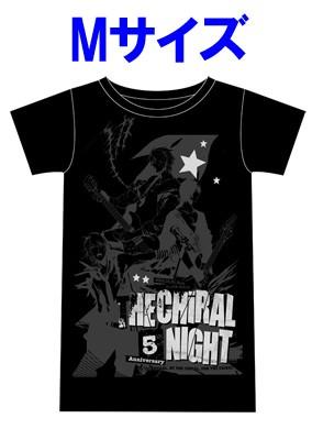 「THE CHiRAL NIGHT 5th ANNIVERSARY」ライブTシャツ【男性M】