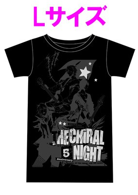 「THE CHiRAL NIGHT 5th ANNIVERSARY」ライブTシャツ【女性L】