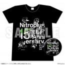 Nitroplus15周年記念Tシャツ&缶バッジセット ブラック