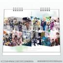 刀剣乱舞-ONLINE- 卓上スクールカレンダー 2018-2019