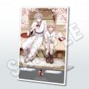刀剣乱舞-ONLINE- 一周年記念祝画アクリルミラースタンド(鶴丸国永・物吉貞宗)